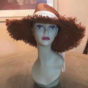 Michael Stars Straw Floppy Sun Hat